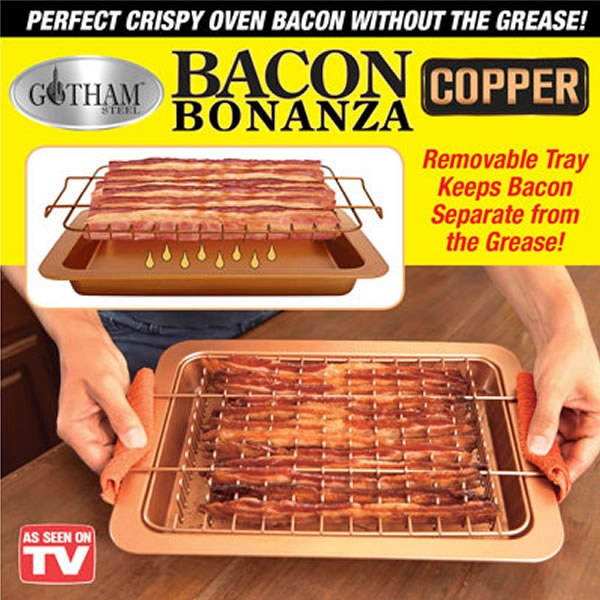 Bacon Bonanza Copper Pan