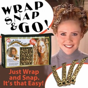 Wrap Snap and Go Comfort Hair Rollers