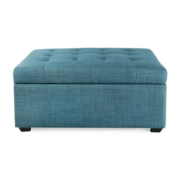 iBED Convertible Ottoman Guest Bed - Blue