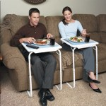 Adjustable Folding Table