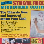 Amazing Streak Free Cloth