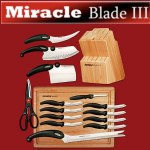 Miracle Blade World Class Series 17 Piece Knife Set