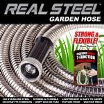 Real Steel Garden Hose