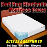 Bed Bug Blockade Mattress Cover