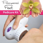 Pampered Feet Pedicure Kit