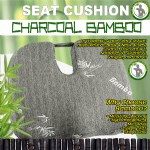 Charcoal Bamboo Seat Cushion