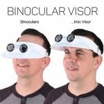 Binocular Sun Visor