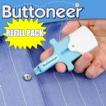 Buttoneer Refill Pack