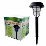 Solar LED Light and UV Bug Zapper