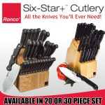 Ronco Six Star Knife Set