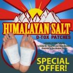 Himalayan Salt Magnetic Foot Detox Patches