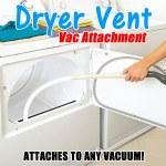 Dryer Vent Vac Attachment