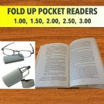Fold Up Pocket Readers