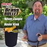 Pocket Hose Top Brass Bullet