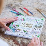 Magic Path Coloring Book