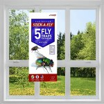 Stick-A-Fly Window Fly Trap