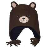 Brown Bear Hat with Ears