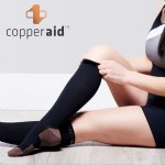Copper Aid Knee High Compression Socks
