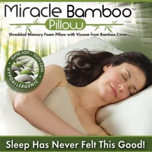 Miracle Bamboo Pillow