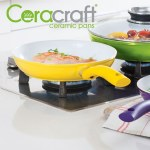 Ceracraft Ceramic Pans - 3 Piece Set