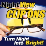 Night View Clip On Glasses