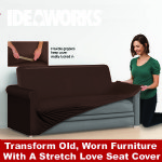 Stretchable Love Seat Cover