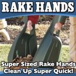 Rake Hands Gorilla Garden Hands