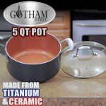 Gotham Steel 5-Quart Pot