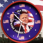President Trump Talking Clock