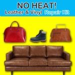 Deluxe No Heat Leather Vinyl Repair Kit