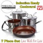NuWave 7 Piece Cookware Set