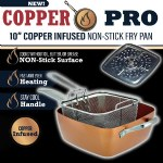 Copper Pro Square Pan
