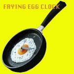 Frying Pan Egg Wall Clock