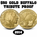 2014 50 Dollar Buffalo Gold Piece
